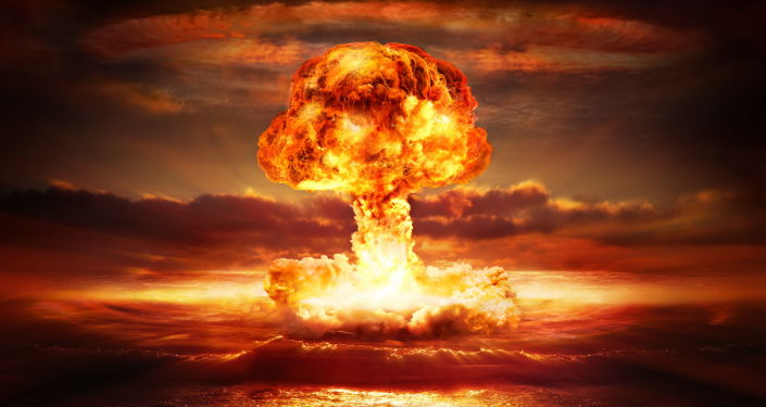 Un'esplosione atomica