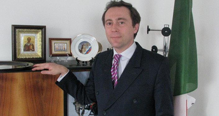 Piergabriele Papadia de Bottini, Console Generale d'Italia in Russia