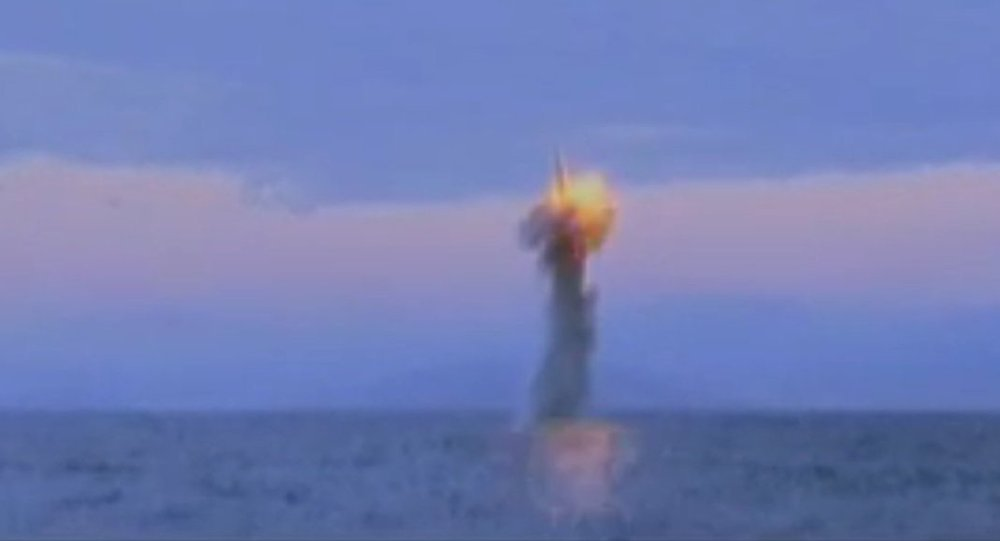 North Korean Submarine Launches Missile Test