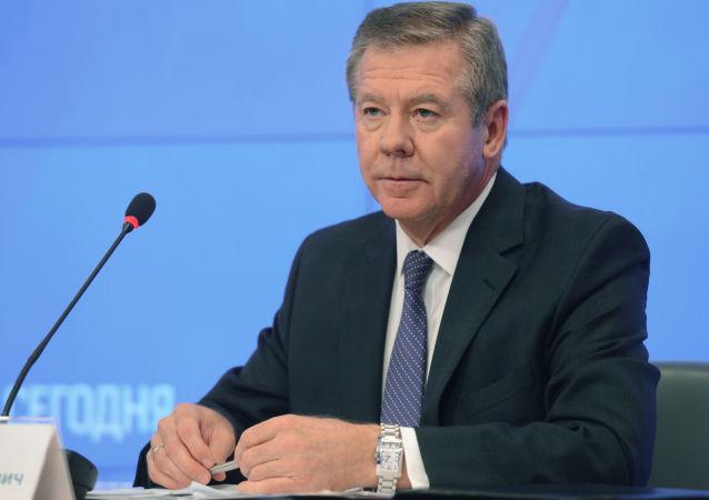 Il vice ministro degli esteri russo Gennadij Gatilov