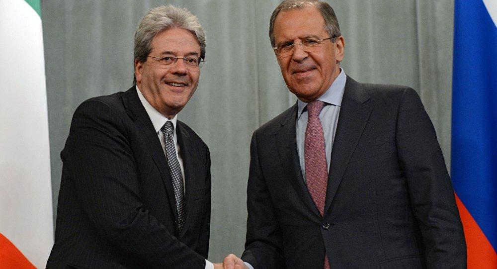 Gentiloni e Lavrov