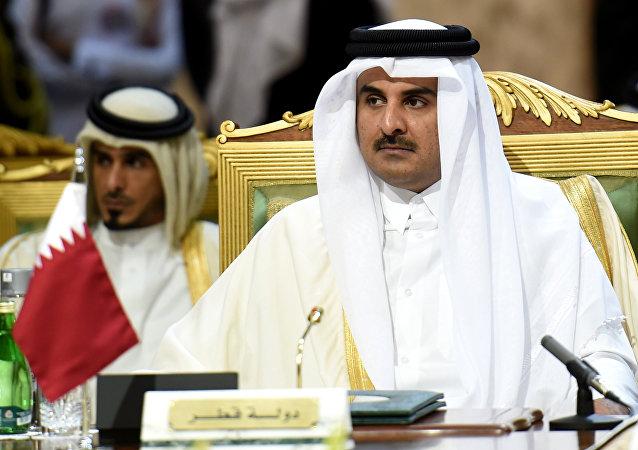 Emiro del Qatar Tamim bin Hamad Al-Thani