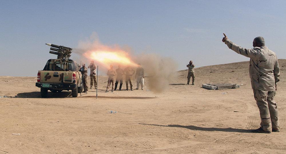 Esercito iracheno attacca Daesh