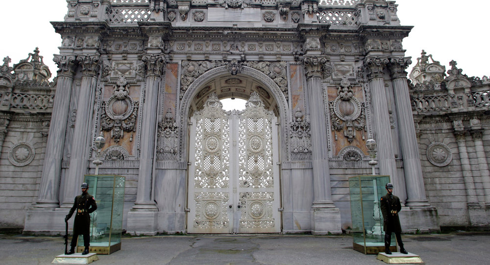 Palazzo Dolmabahce ad Istanbul