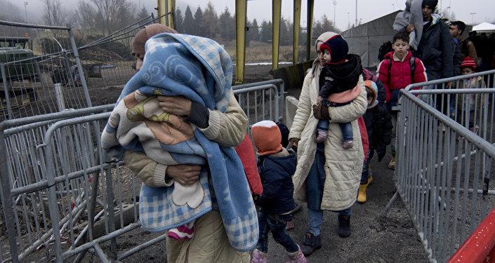 Profughi in Europa (foto d'archivio)