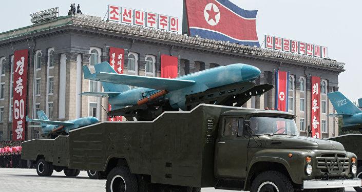 Parata militare in Corea del Nord (foto d'archivio)