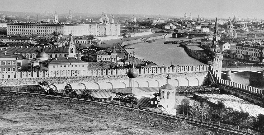Il cuore della Russia, Mosca a fine '800