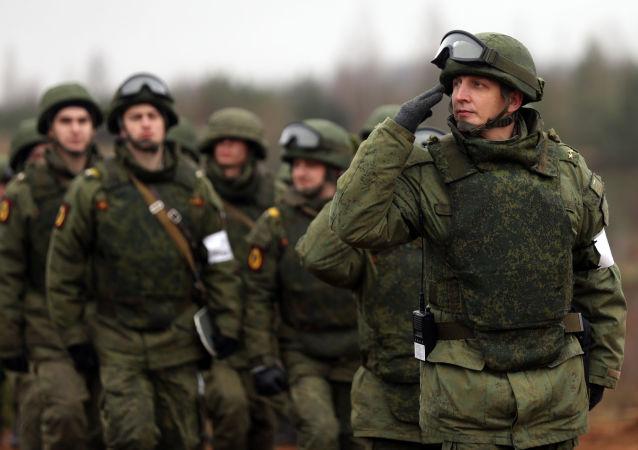 Soldati russi (foto d'archivio)