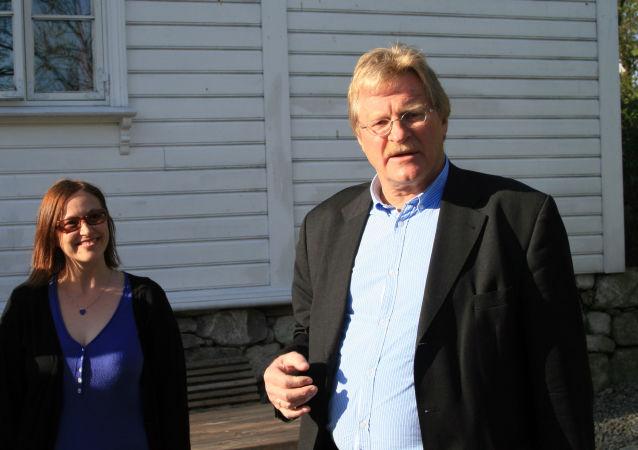 L'ex ambasciatore norvegese in Russia Eyvin Nordsletten