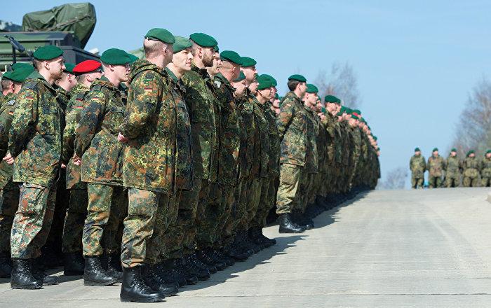 Soldati dell'esercito tedesco