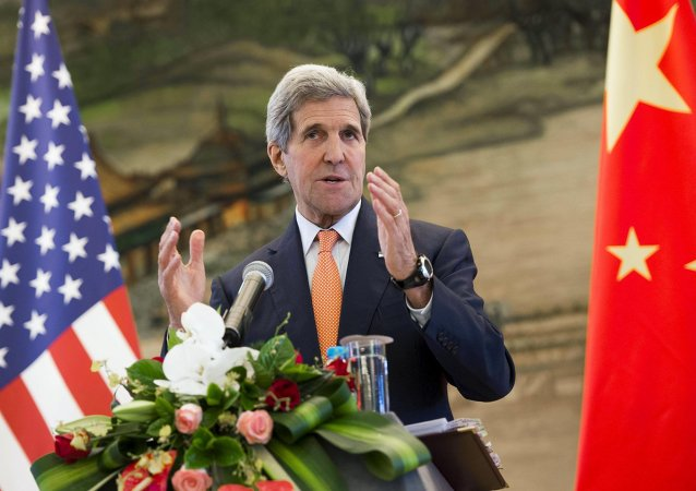 John Kerry in Cina