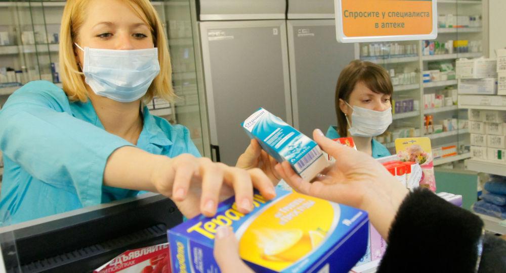 Russia, vendita di farmaci antivirali in farmacia