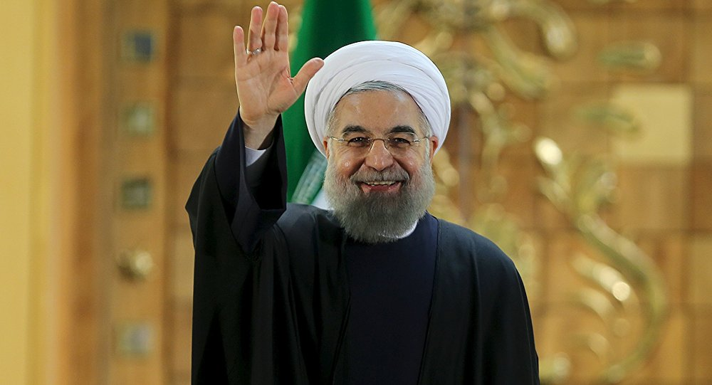 Il presidente iraniano Hassan Rohani