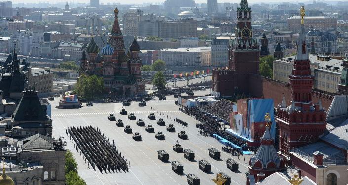La parata militare a Mosca il Giorno della Vittoria