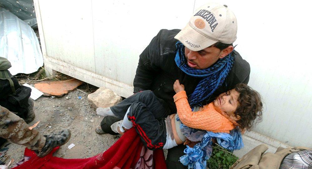 Bambino iracheno