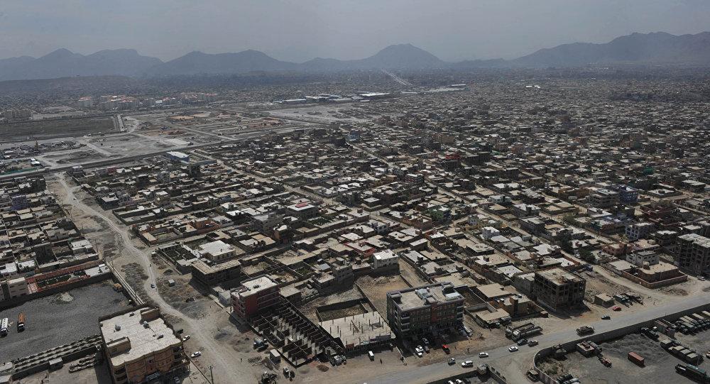 Una vista di Kabul