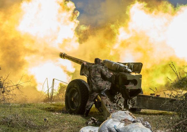 L'offensiva dell'Esercito siriano nei pressi d'Idlib.