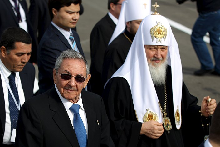 Il patriarca Kirill all'Avana