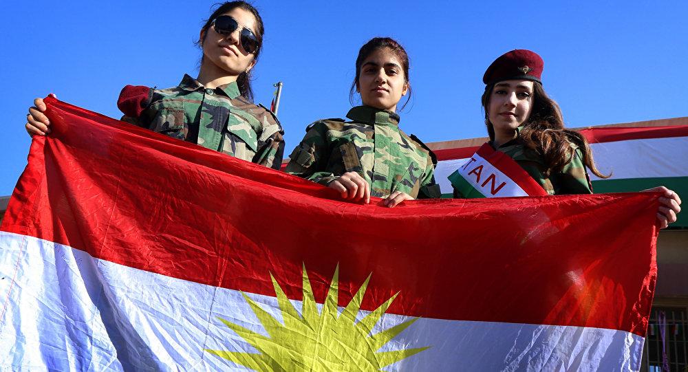 Bandiera del Kurdistan iracheno