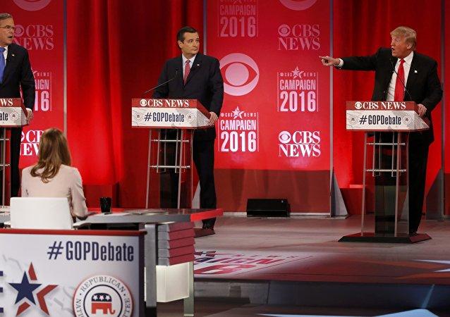 Dibattito tra Jeb Bush e Donald Trump