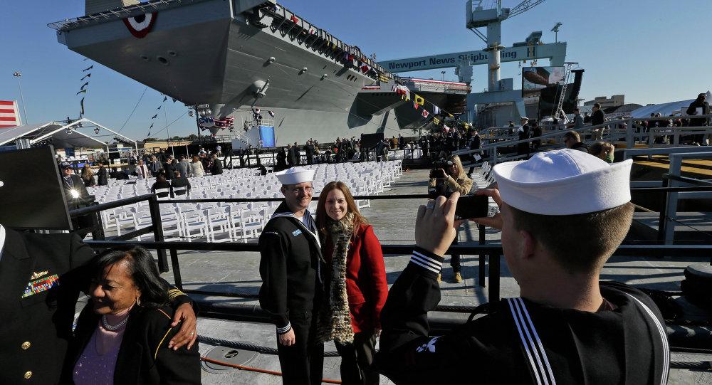 Portaerei USS Gerald Ford
