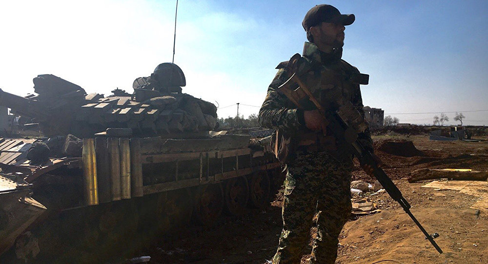 Soldato siriano (foto d'archivio)