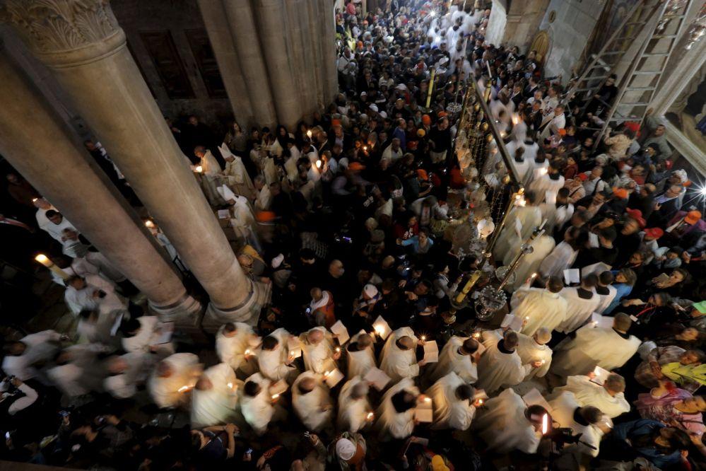 Liturgia della Pasqua a Gerusalemme.