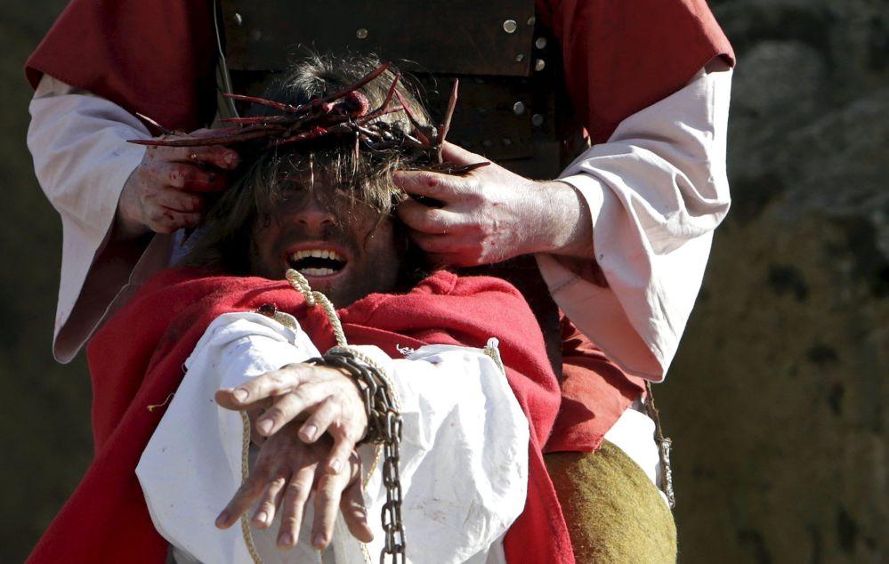 Rappresentazione della Passione di Cristo in Reopubblica Ceca.