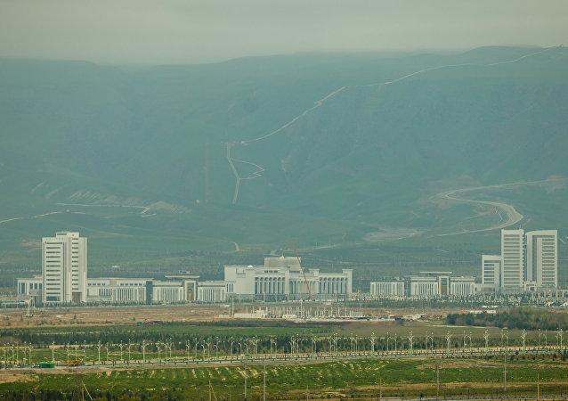 Veduta di Ashgabat