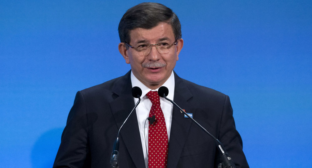 Premier turco Akhmet Davutoglu