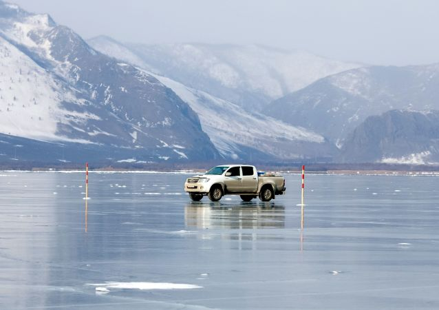 Il lago Bajkal.