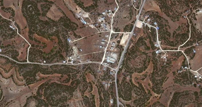 La zona dove iniziarono i cantieri di Sidi al Hamri fotografata da Google Maps oggi