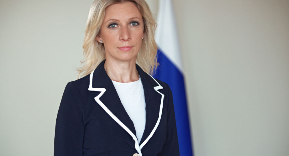 Il rappresentante ufficiale del Ministero degli Esteri russo Maria Zakharova