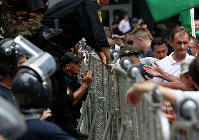 Proteste a Sarajevo, la capitale della Bosnia