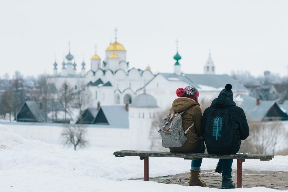 Turisti a Suzdal