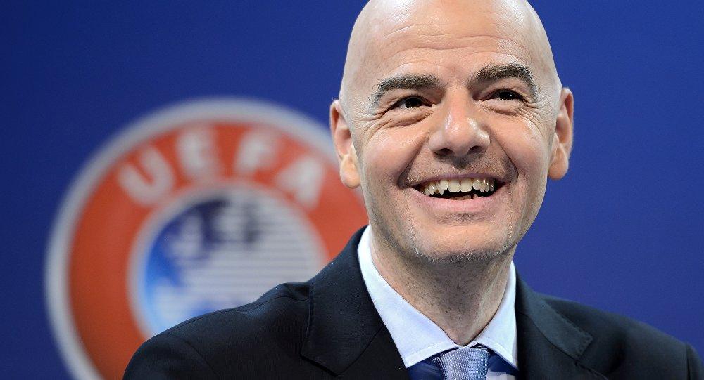 Presidente della Fifa, Gianni Infantino