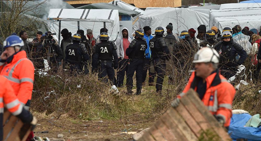 Lo sgombero della Giungla di Calais
