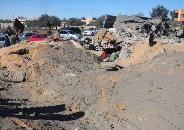USA hanno bombardato le posizioni del Daesh in Libia