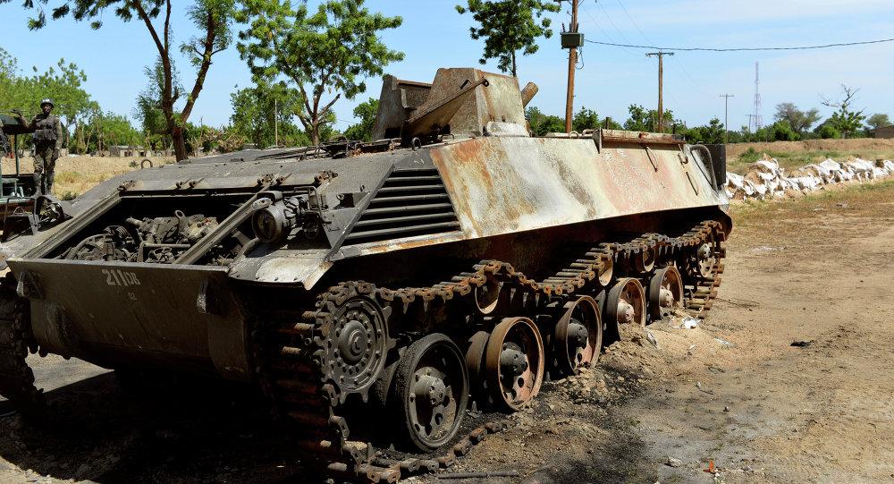 Carro armato di Boko Haram