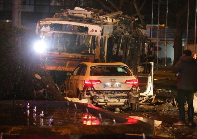 Attentato di domenica sera ad Ankara