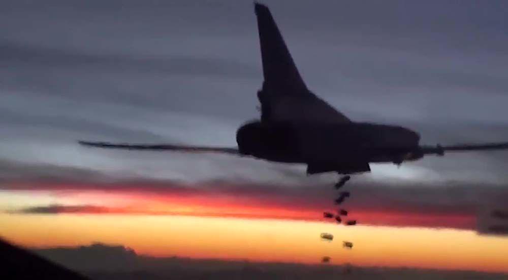 Cronaca dell'operazione della Russia in Siria.