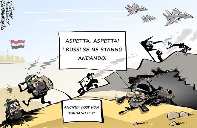 Il ritiro dei militari russi dalla Siria