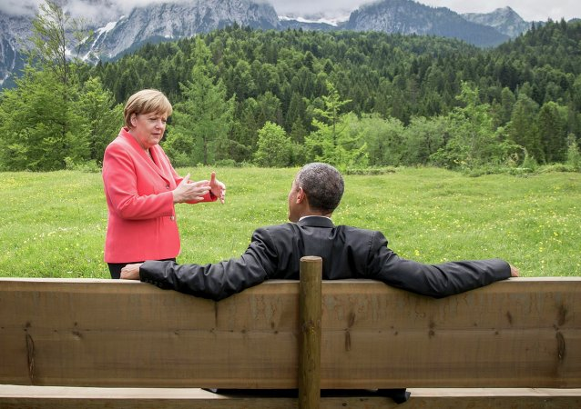 Angela Merkel e Barack Obama