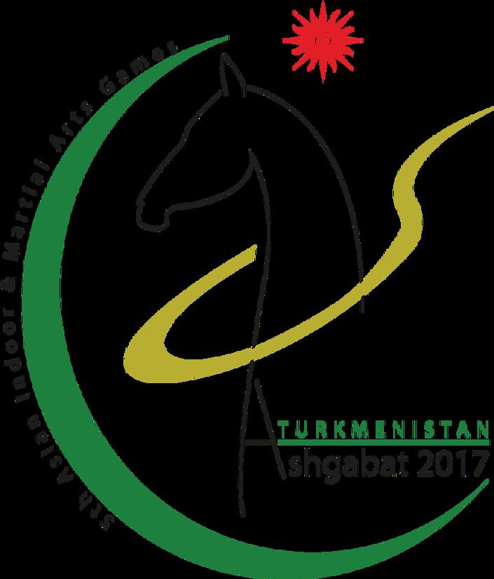 Il logo degli AIMAG 2017 ad Ashgabat