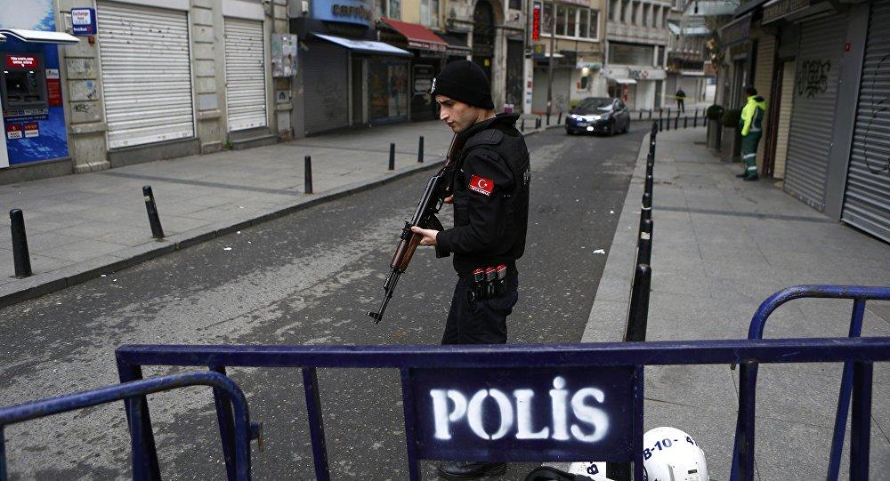Luogo dell'attentato terroristico, Istanbul