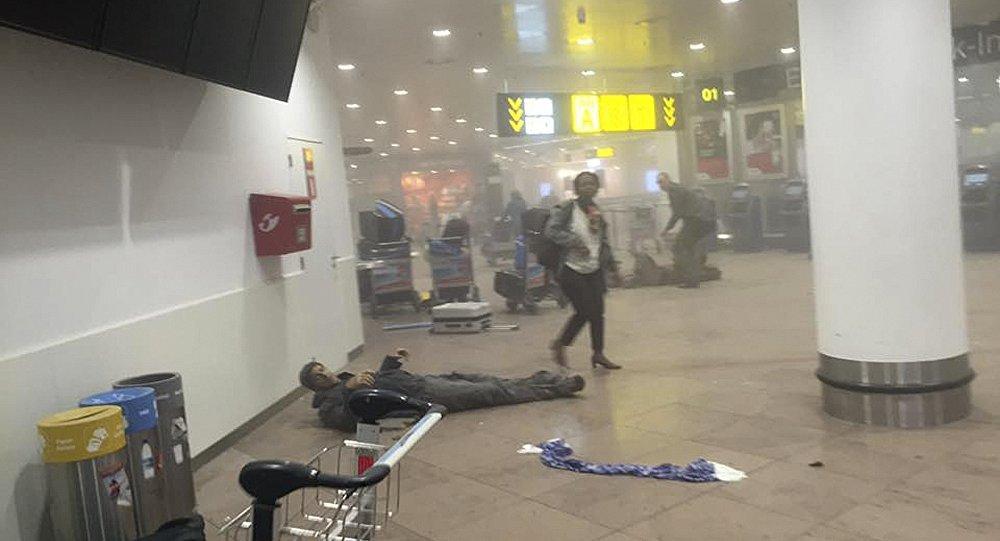 Aeroporto di Bruxelles attaccato dai terroristi