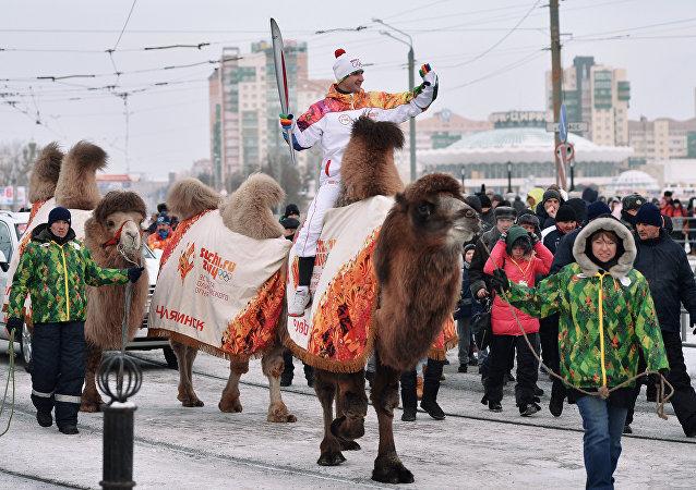 Il cammello di Chelyabinsk