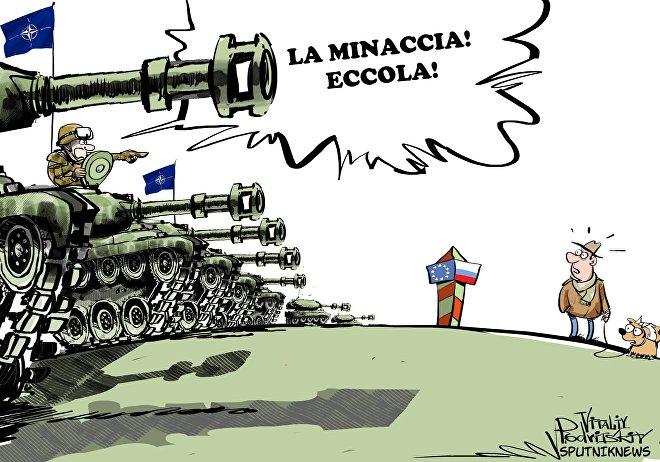 NATO all'est contro la minaccia russa
