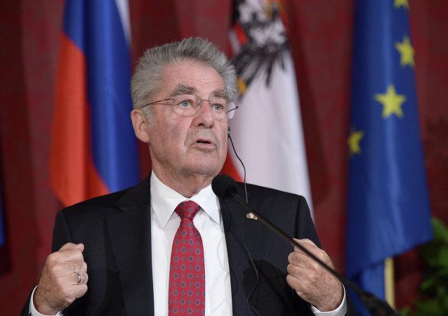 Presidente austriaco Heinz Fischer