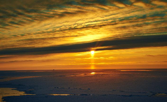 Tramonto nel Mar di Barents